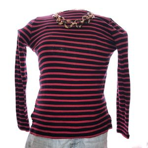 J. Crew Mercantile Striped Top